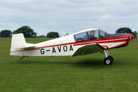 G-AVOA @ EGBK - Visitor to the 2009 Sywell Revival Rally