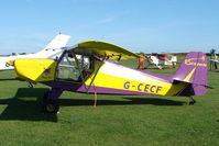 G-CECF @ EGBK - Visitor to the 2009 Sywell Revival Rally
