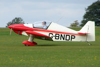 G-BNDP @ EGBK - Visitor to the 2009 Sywell Revival Rally