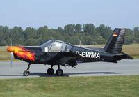 D-EWMA @ EDBH - Zlin Z-42MU at Stralsund/Barth airport - by Ingo Warnecke