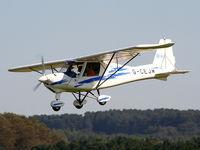 G-CEJW @ X3OT - Staffordshire Aero Club's 25th anniversary fly-in - by Chris Hall