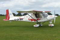 G-OFBU @ EGBK - Visitor to the 2009 Sywell Revival Rally