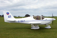 G-OBJT @ EGBK - Visitor to the 2009 Sywell Revival Rally