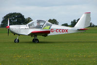 G-CCDX @ EGBK - Visitor to the 2009 Sywell Revival Rally