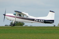 PH-KRC @ EGBK - Visitor to the 2009 Sywell Revival Rally