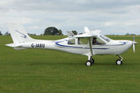 G-JABU @ EGBK - Visitor to the 2009 Sywell Revival Rally