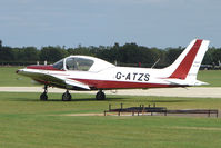 G-ATZS @ EGBK - Visitor to the 2009 Sywell Revival Rally