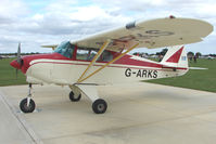 G-ARKS @ EGBK - Visitor to the 2009 Sywell Revival Rally
