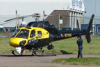 G-NTWK @ EGNX - Network Rail Helicopter at East Midlands