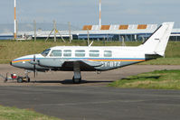 OY-BTZ @ EGNX - Danish Registered Piper Chieftan - but based at East Midlands
