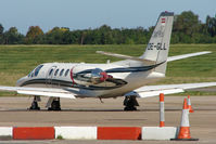 OE-GLL @ EGBB - Austrian Citation 550 at Birmingham - by Terry Fletcher
