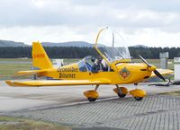 D-MOER @ EDLO - Evektor EV-97 Eurostar at Oerlinghausen airfield
