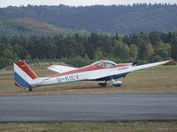 D-KIEV @ EDLO - Scheibe SF-25C Falke at Oerlinghausen airfield