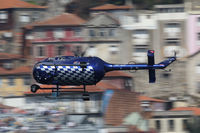 HB-ZJF - Red Bull Air Race Porto 2009 - Messerschmitt BO105 S - by Juergen Postl