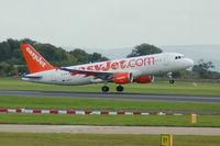 G-EZTE @ EGCC - Easyjet - Airbus A320-214 - Taking Off - by David Burrell