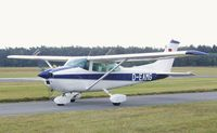 D-EAMG @ EDLO - Cessna (Reims) F182Q Skylane at Oerlinghausen airfield