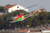 19302 - Red Bull Air Race Porto 2009 - Portugal Air Force - Sud SE-3160 Alouette III - by Juergen Postl