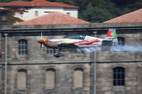 D-EUCE - Red Bull Air Race Porto 2009 - Extra EA-300LP - by Juergen Postl