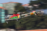 19298 - Red Bull Air Race Porto 2009 - Portugal Air Force - Sud SE-3160 Alouette III - by Juergen Postl