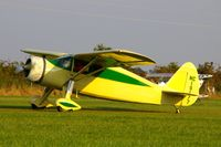 N19177 @ IA27 - At the Antique Airplane Association Fly In - by Glenn E. Chatfield