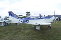 D-EUKI @ EDLO - Brditschka HB-207 V-RG at the 2009 OUV-Meeting at Oerlinghausen airfield - by Ingo Warnecke