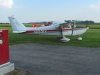 N1331Y @ 9OH9 - Carl & Deb arriving at the TOPA cookout - Forest, Ohio. - by Bob Simmermon