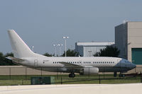 N529PP @ AFW - Boeing Business Jet at Alliance
