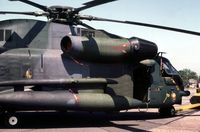 68-10928 @ MHZ - Another view of the CH-53C on display at the 1982 Mildenhall Air Fete. - by Peter Nicholson