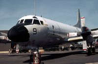 161329 @ MHZ - Patrol Squadron VP-11's P-3C Orion on display at the 1982 RAF Mildenhall Air Fete. - by Peter Nicholson