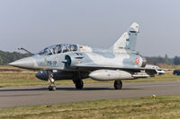526 @ EBBL - Mirage 2000B taxying to the active