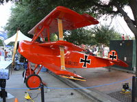 N1839 @ ADS - Cavanaugh Flight Museum Dr-1 on display at the 2009 Addison Oktoberfest!
