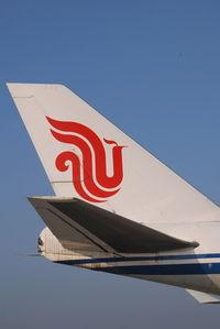 B-2475 @ VIE - Air China Boeing 747-400