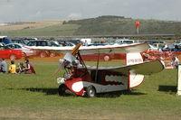 BAPC302 @ EGKA - The Flying Flea at RAFA Battle of Britain Airshow, Shoreham Airport Aug 09 - by Eric.Fishwick
