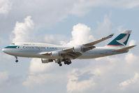 B-KAG @ EDDF - Cathay Pacific 747-400 - by Andy Graf-VAP