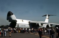 68-0222 @ MHZ - C-5A Galaxy of 436th Military Airlift Wing at the 1982 RAF Mildenhall Air Fete. - by Peter Nicholson