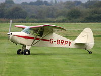 G-BRPY @ EGCB - Barton Fly-in and Open Day - by Chris Hall