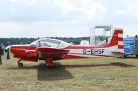 D-EHSF @ EDLO - Wassmer WA-40 Super IV at the 2009 OUV-Meeting at Oerlinghausen airfield - by Ingo Warnecke