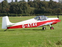 G-ATAV @ EGCB - Barton Fly-in and Open Day - by Chris Hall