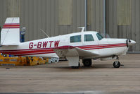 G-BWTW @ EGNX - Mooney M20C at East Midlands