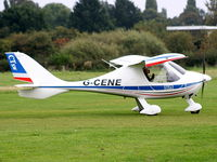 G-CENE @ EGCB - Barton Fly-in and Open Day - by Chris Hall