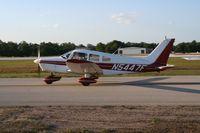 N5447F @ LAL - Piper PA-28-151