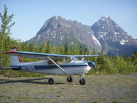N6196B @ A13 - Aircraft is based at ANC.  Camping trip to Eklutna. - by Kevin Dixon
