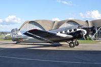 HB-HOS @ LSMD - Ju Air Junkers Ju52