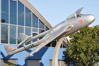 J-1126 @ LSMD - Swiss Air Force Vampire