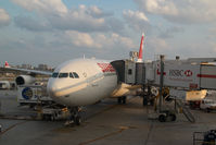 HB-JMO @ KMIA - Swiss Airbus 340-300