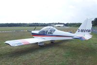 D-MVHW @ EDLO - Evektor EV-97 Eurostar at the 2009 OUV-Meeting at Oerlinghausen airfield