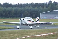 D-ENGL @ EDLO - Vans (Engel) RV-7 at the 2009 OUV-Meeting at Oerlinghausen airfield
