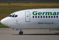 D-ADII @ EDDF - Germania B737 still waering their own Colours. - by The_Planespotter
