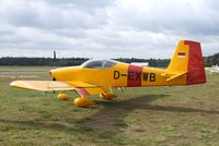 D-EXWB @ EDLO - Vans RV-9A at the 2009 OUV-Meeting at Oerlinghausen airfield