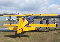 D-EWDH @ EDLO - Pitts (Haag) Model 12 at the 2009 OUV-Meeting at Oerlinghausen airfield
